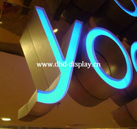 High quality advertising fluorescent sign letters