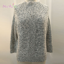 New Winter Long Pullovers In Womens Sweater Dresses Thickening Knit Lady Sweater