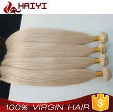 Top Quality Grade 8A Full Head Double Drawn Straight Blonde Brazilian Remy Human Hair