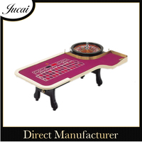 China custom roulette game table