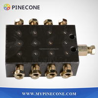 Concrete Pump Spare Parts SANY 8 Holes Oil Separator/ Oil Distributor/Grease Separator