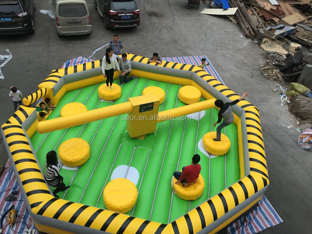 2019 new cheap inflatable meltdown sale/meltdown inflatable for 8 people