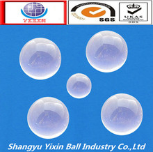 Newest professional decorative clear glass balls