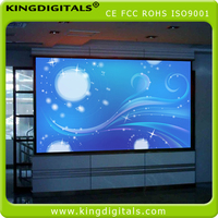 p4 full color led display uesed for products showroom