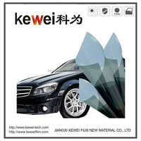Kewei Heat reflective film for car window tinting film, 99% VLT Grey color Car window protection film for automotives