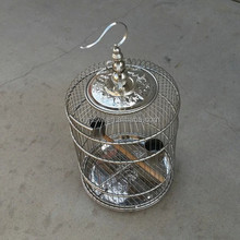 Stainless Steel Chinese Round Bird Cage