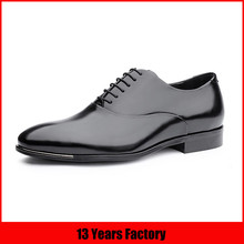 2016 luxury quality lace up man dress shoe