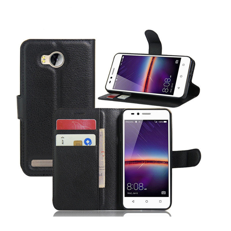 pu leather wallet flip phone back case back cover for huawei <strong>y3</strong> <strong>2</strong> y5-<strong>2</strong>