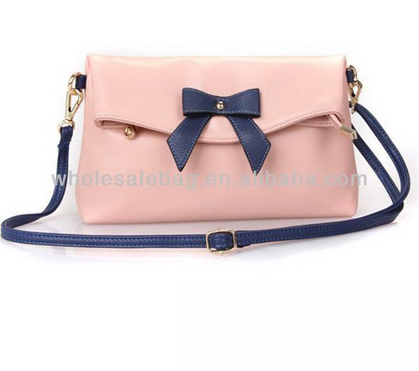 Fashion Bowknot Sling Bag Cute Bowknot Small Bag For Ladies Women ...