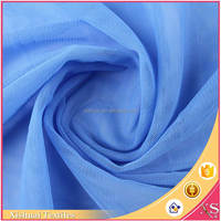 Shaoxing textile Creative style Shiny Comfortable fabric micro mesh