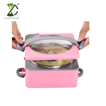 Stainless Steel Lunch Box Water Injection Thermal Insulation Food Container For Kids And Adults