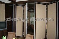 Acoustic Folding wood Wall/door decorative acoustic panels Soundproof Movable Partition Room Divider