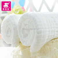more healthy and softer cotton gauze fabric baby bath towels for gift