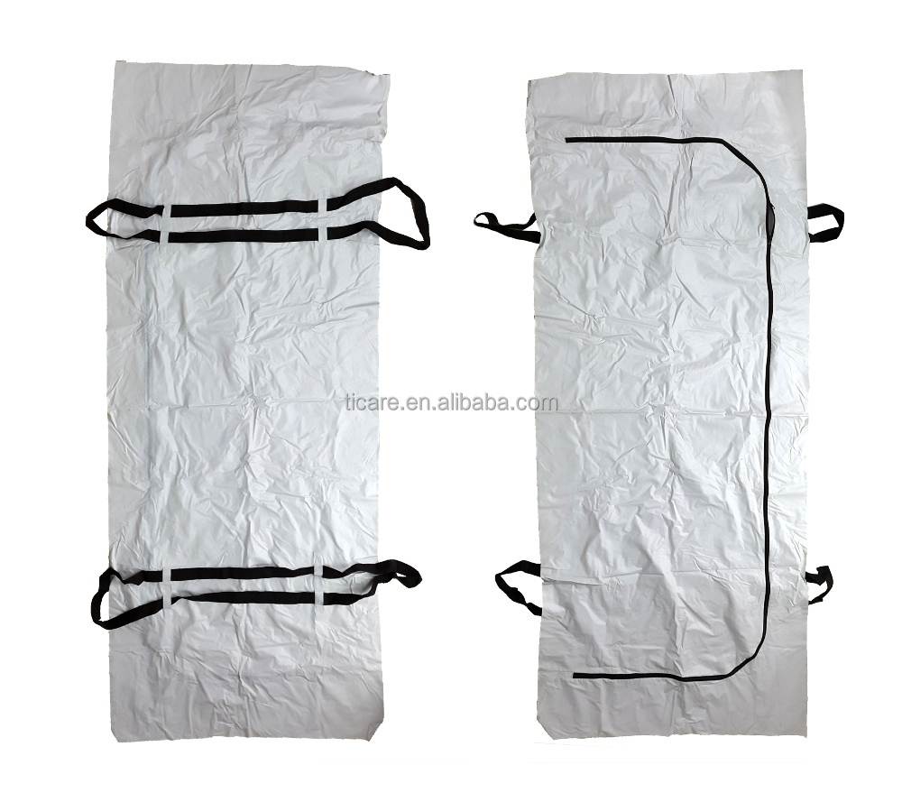 PVC Plastic Medical Mortuary Body Bag