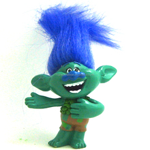 Creek new troll doll 6 cm PVC figure popular cartoon OEM