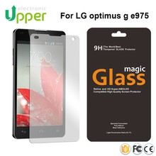 2016 China supplier Newest product 0.33mm ultra thin tempered glass screen protector for lg optimus g e975 e971 e973 ls970 e795