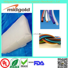 Midgold density silicon rubber for silicon cord