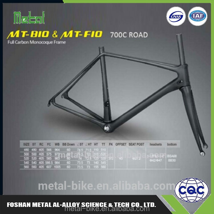 Trustworthy China Supplier road bike frame geometry