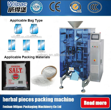 Salt/Sugar For Cook Pillow Bag Weighing Sealing Packing Machine