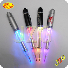 Guang dong Supplier China Glow in the dark LED ball pen