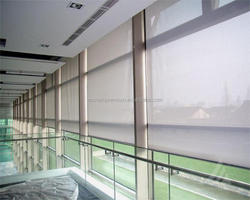 2018 New Modern Office Window Sunscreen Rolling up Blinds / Somfy motorised Roller Blinds