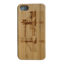 Dongguan Qian Yuan Factory Bamboo Natural Wood China Mobile Best Selling Durable Shockproof PC Phone Case Design Your Own Cover