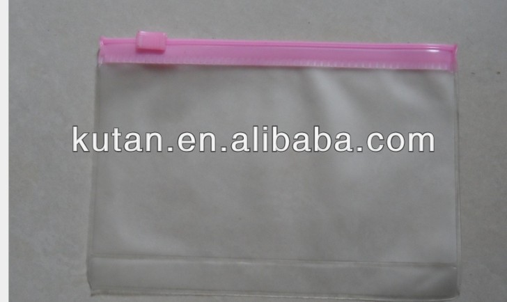 plastic carry bag small pvc cosmetic pouch