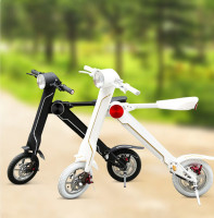 Foldable mini Electric Scooter LeHe Smart K Foldable Scooter Electric bike Vokul