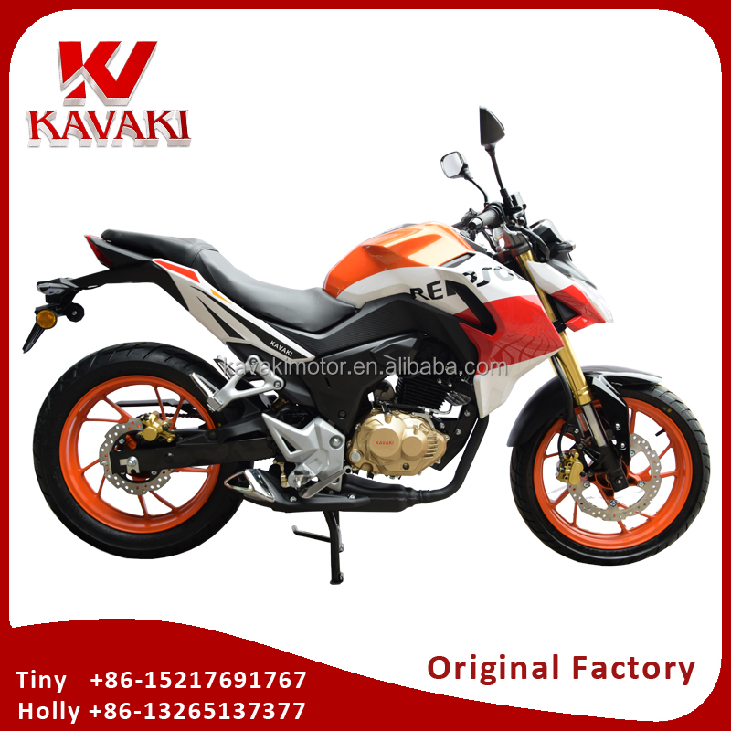 2017 Kavaki Brand New 190CC Powerful Racing Street Motorcycle Cross 190CC Two Wheel Motor