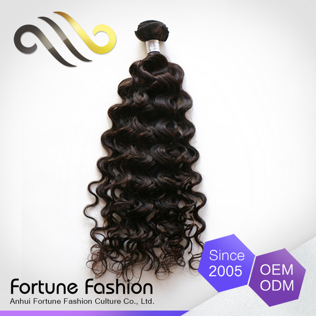 Tuneful Unprocessed Virgin Remy Human Peruvian Hair Weft Water Wave