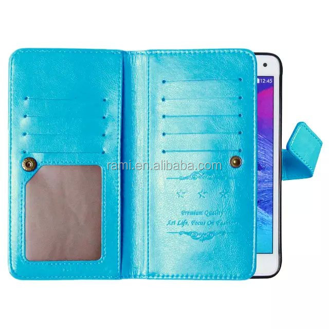 For Samsung Galaxy Note 4,Top Quality Best Brands Mobile Phone Leather Case
