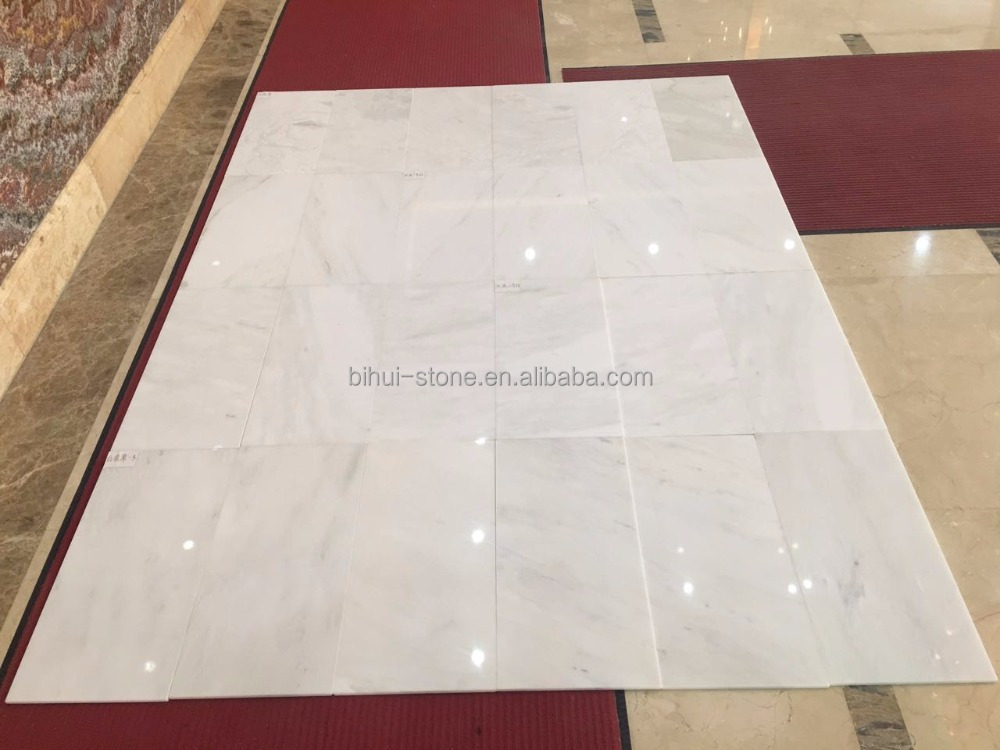 Snowblink White Marble Flooring Tiles And Marble Slab With Good Price