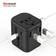 Multi Plug Mobile Phone Accessories 4 Usb Type C Wall Charger Travel Usb Home Charger 4.5A Universal Travel Charger