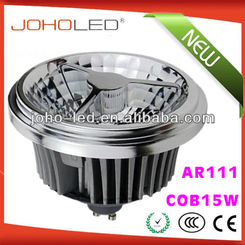 Hot sale AR111D-COB15W GU10 E27 G53 <strong>r111</strong> ar111 cob led lamp