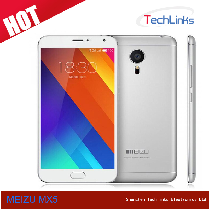 2015 MEIZU MX5 4G Lte Octa Core 3GB 16GB 20.7MP Camera Flyme 4.5 Dual SIM 5.5 inch Cell Phone