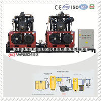 PET blowing machine high pressure 300 cfm air compressor
