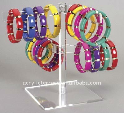 acrylic Tree Hanger jewelry/bangle/Bracelet display/stand