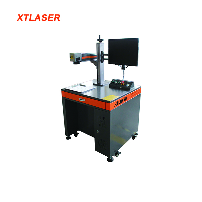 High quality China factory fiber 20w laser name plate jewelry engraving and cutting machine