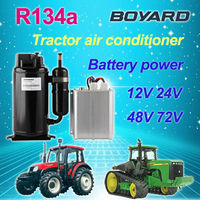 dc air conditioning system in cars with bldc 48v compressor for EV RV aircondition