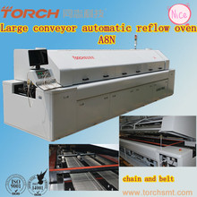 Large-size conveyor lead free reflow oven machine with 8 heating zones