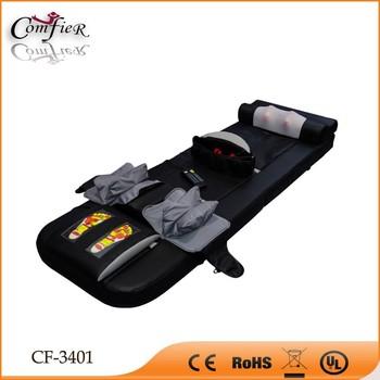 Full body massage mattress with multifunction buy for Full body shiatsu massage mat