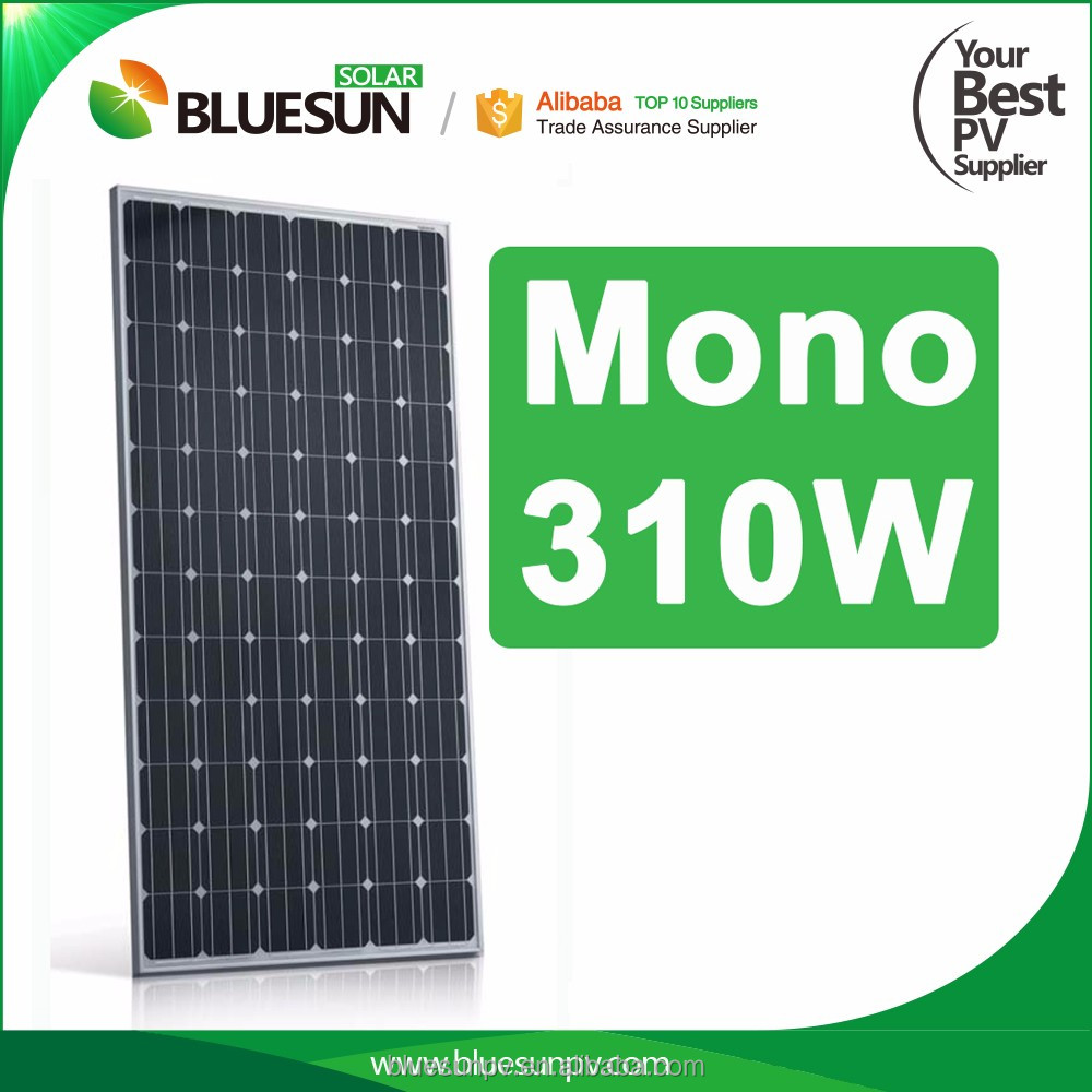 High Performance Monocrystalline Curved Solar Panel Korea 310W 320W