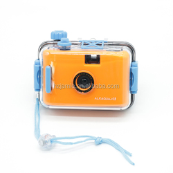 Updated version Double-buckle retro Plastic Film Aqua Pix Underwater LOMO waterproof camera