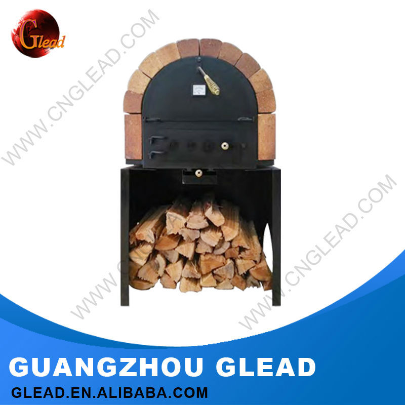 Heavy Duty Commercial 2016 Glead New Style Fire Wood Fired Pizza Oven