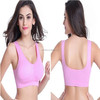 Yoga Seamless Sports Bra Fitness Padded Stretch Top Tank OEM Wholesale