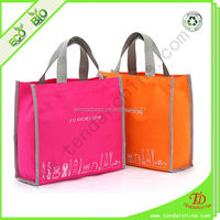 600D Nylon Shopping Tote Foldable Nylon Bag