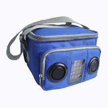 Factory Price Muti-function Built-in Audio speaker Cola Cooler Bag for Phones