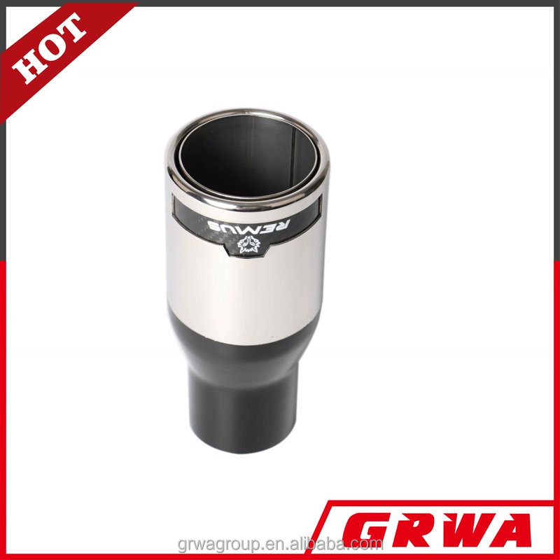 Stainless steel Remus Exhaust Tips Muffler Pipe Tips for Car
