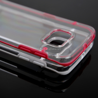 Newest Luminous Glow Style Transparent Bumper Case Cover for Samsung Galaxy S6 Edge G9250