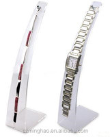 White single acrylic pocket watch display stand